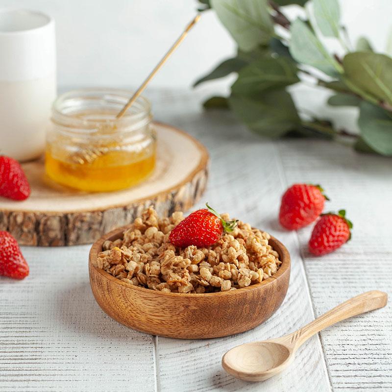 Μούσλι με ελληνικό μέλι Άνθημα